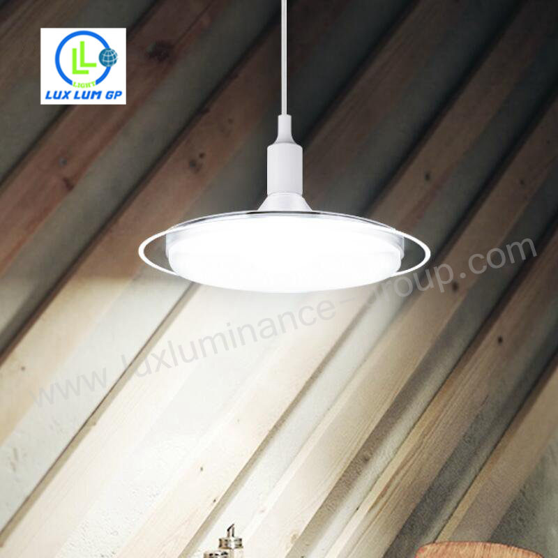 Trade Assurance latest Design Mushroom Led Bulb 10W 15w 20w 30w 40w led Ufo lamp E27 Led Bulb