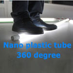 Nano plastic tube replace glass and plastic tube LED T8 10w 1100lm
