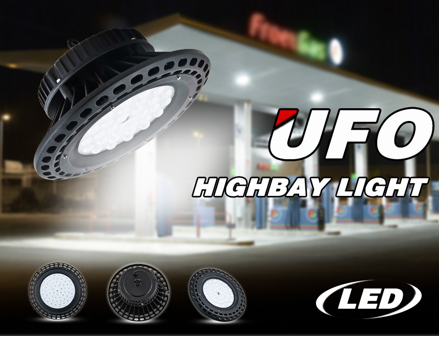 LED HIGHBAY LIGHT UFO  With Philips 3030 led chips  more than 130lm/w UFO high bay IP65
