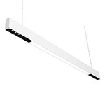 Suspended lens linear luminaires office linear pendant light 1.2M MIX type 32W