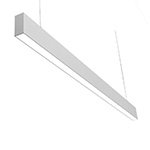 Suspended linear flood luminaires office linear pendant light 1.2M flood type 36W